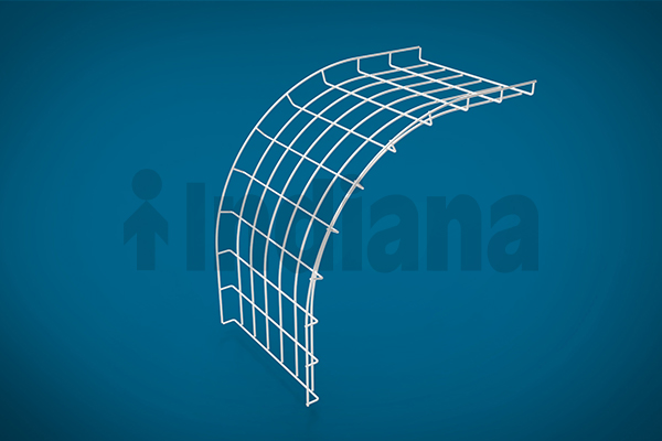 Wiremesh Vertical Outer Bend