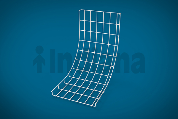 Wiremesh vertical inner bend